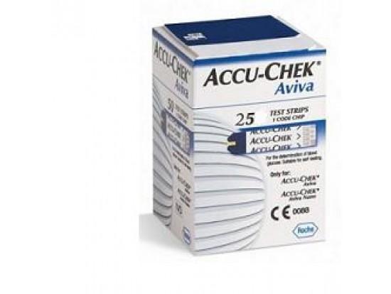 Accu-chek Aviva 25str