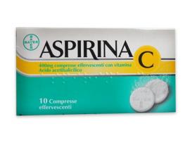 Aspirina C*10cpr Eff 400+240mg (scad 10/2018)