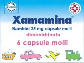 Xamamina*bb 6cps 25mg (scad 08/2020)