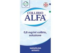 Collirio Alfa*gtt 10ml0,8mg/ml (scad 06/2018)