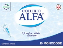 Collirio Alfa*10cont 0,3ml (scad 09/2018)